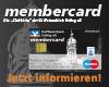 membercard girocard maestro